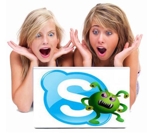 Skype virus bot