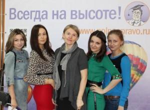 команда победителей с преподавателем Оксаной Алексеевной Божко