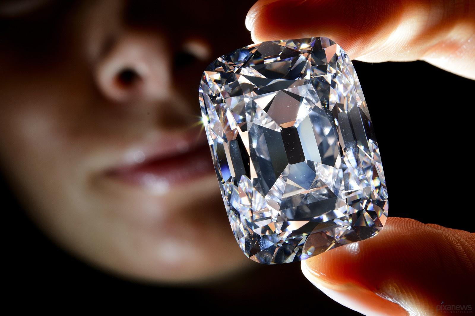 Фото самый красивый бриллиант в мире