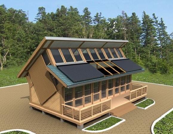 Эко дом строительство своими руками
